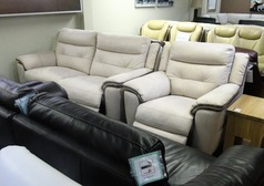 Miami electric recliner 3 seater and 1 chair bisque  £799 (SWANSEA SUPERSTORE) - Click for more details