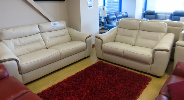 Luxembourg 3 seater and 2 seater £1499 (NEWPORT STORE)