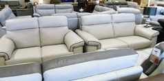 Sacramento 3 seater and 2 seater £1999 stone (NEWPORT STORE) - Click for more details