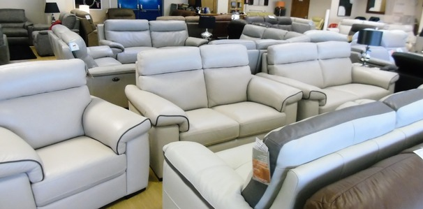 Sacramento 3 seater , 2 seater and chair  £2499 stone (NEWPORT STORE)