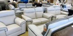 Sacramento 3 seater , 2 seater and chair  £2499 stone (NEWPORT STORE) - Click for more details