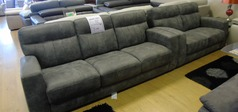 Faro 3 seater and 2 seater grey £1199 (NEWPORT STORE) - Click for more details