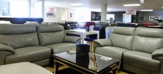 Paris electric recliner 3 seater and 2 seater grey  £1999 (SWANSEA SUPERSTORE) - Click for more details