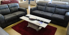 FARO  3 seater and 2 seater grey vintage £899 (CARDIFF SUPERSTORE ) - Click for more details