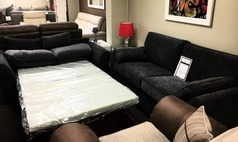Roma 3 seater and 2 seater sofa bed grey £699 (CARDIFF SUPERSTORE) - Click for more details