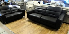 Calia Teseo 3 seater and 2 seater charcoal £1799 (CARDIFF SUPERSTORE) - Click for more details