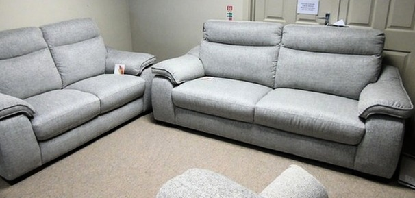 Marseille 3 seater and 2 seater grey £899 (CARDIFF SUPERSTORE)