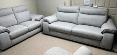 Marseille 3 seater and 2 seater grey £899 (CARDIFF SUPERSTORE) - Click for more details