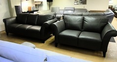 Palermo 3 seater and 2 seater grey £1399 (CARDIFF SUPERSTORE) - Click for more details