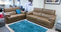 Pavia 3 seater and 2 seater sand £2999 (CARDIFF SUPERSTORE) - Click for more details