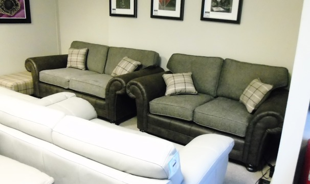 Darwin 3 seater and 2 seater chair £1199 (CARDIFF SUPERSTORE)
