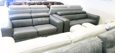 Bellini 3 seater and 2 seater mid grey £2999 (NEWPORT SUPERSTORE) - Click for more details