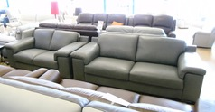 Madrid 3 seater and 2 seater mid grey £2199 (NEWPORT STORE) - Click for more details