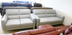 SAN REMO 3 seater and 2 seater grey £1399 (NEWPORT STORE) - Click for more details