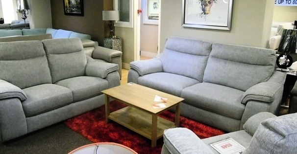 Marseille 3 seater and 2 seater grey £999 (SWANSEA SUPERSTORE)