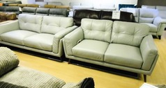 CADIZ 3 seater and 2 seater grey £1599 (SWANSEA SUPERSTORE) - Click for more details
