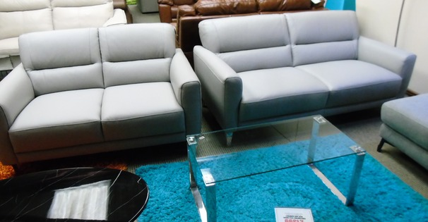 San Remo 3 seater and 2 seater grey  £1399 (SWANSEA SUPERSTORE STORE)