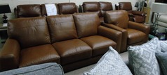 Porto 3 seater and 1 chair £1299 (SWANSEA SUPERSTORE) - Click for more details