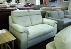 Siena 2 seater cream £599 (SWANSEA SUPERSTORE) - Click for more details