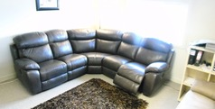 Barcelona double electric recliner corner suite £1999 (CARDIFF SUPERSTORE) - Click for more details