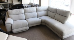 Narbonne electric recliner corner suite cream  £1799 (CARDIFF SUPERSTORE) - Click for more details