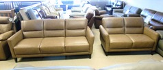 San Remo 3 seater and 2 seater sand £999 (CARDIFF SUPERSTORE) - Click for more details