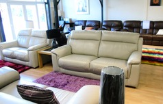 Chippenham 3 seater and 2 seater grey £1799 (SWANSEA SUPERSTORE) - Click for more details