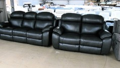Barcelona 3 seater and 2 seater anthracite £1799 (SWANSEA SUPERSTORE) - Click for more details