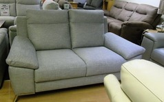 CALIA ROBY  2 SEATER SOFA STONE £499  - Click for more details