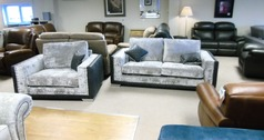 MULLINER 3 seater and cuddle chair grey £1149 (CARDIFF SUPERSTORE) - Click for more details