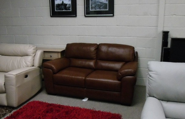 Isabella 2 seater mid tan £699 (SWANSEA SUPERSTORE)