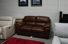 Isabella 2 seater mid tan £699 (SWANSEA SUPERSTORE) - Click for more details