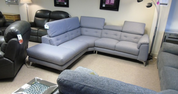 Toulon corner suite grey £1399 (CARDIFF SUPERSTORE)