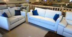 ZINC 3 SEATER AND 2 SEATER  LIGHT GREY £999 (CARDIFF SUPERSTORE) - Click for more details