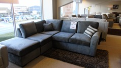 IGGY corner suite  grey £699 (CARDIFF SUPERSTORE) - Click for more details