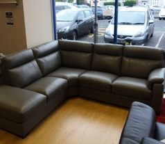 Modesto corner suite mid grey £999 (NEWPORT) - Click for more details
