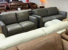 RENO  3 seater and 2 seater  mid grey £999 (NEWPORT STORE) - Click for more details