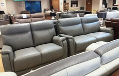 Granada 3 seater and 2 seater grey £1799 (NEWPORT STORE) - Click for more details