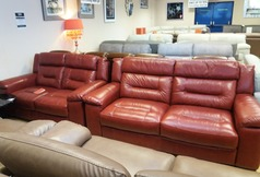 Somerset 3 seater and 2 seater red  £1499 (NEWPORT STORE) - Click for more details