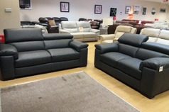 Venetto 3 seater and 2 seater  dark grey £2299 (NEWPORT STORE) - Click for more details