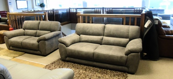 Baresi 3 seater and 2 seater £999 grey (CARDIFF SUPERSTORE)