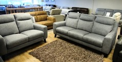 Newbury large 3 seater and 2 seater grey £899 (CARDIFF SUPERSTORE) - Click for more details
