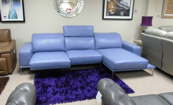 Villneuve recliner chaise sofa £2999 (CARDIFF SUPERSTORE)