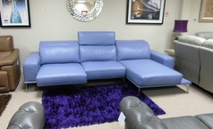 Villneuve recliner chaise sofa £2999 (CARDIFF SUPERSTORE) - Click for more details