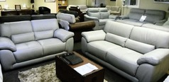 Baresi 3 seater and 2 seater feather grey £1299 (SWANSEA SUPERSTORE) - Click for more details