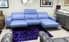 Villneuve recliner chaise sofa £1999 (CARDIFF SUPERSTORE) - Click for more details