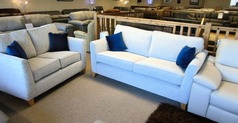 ZINC 3 seater and 2 seater £799 (CARDIFF SUPERSTORE) - Click for more details
