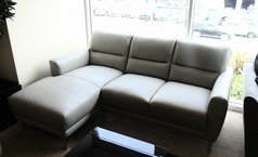San Remo chaise sofa grey £999 (CARDIFF SUPERSTORE) - Click for more details