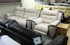 Miami electric recliner 3 seater and 1 electric recliner chair £999 (SWANSEA SUPERSTORE) - Click for more details