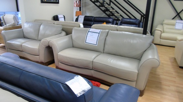 Florence 3 seater and 2 seater light taupe £1999 (SWANSEA SUPERSTORE)